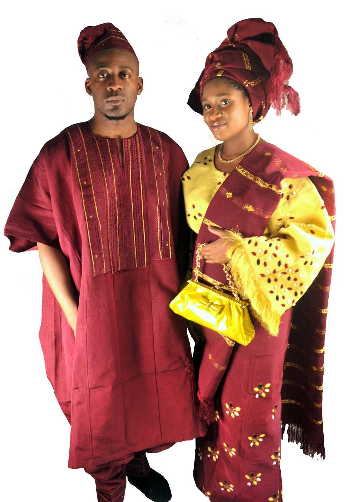 Traditional Attire of Nigerian