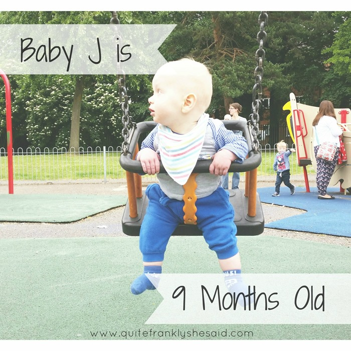 baby 9 months old update