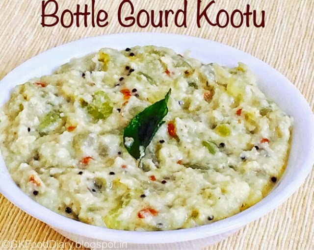 Bottle gourd Kootu recipe