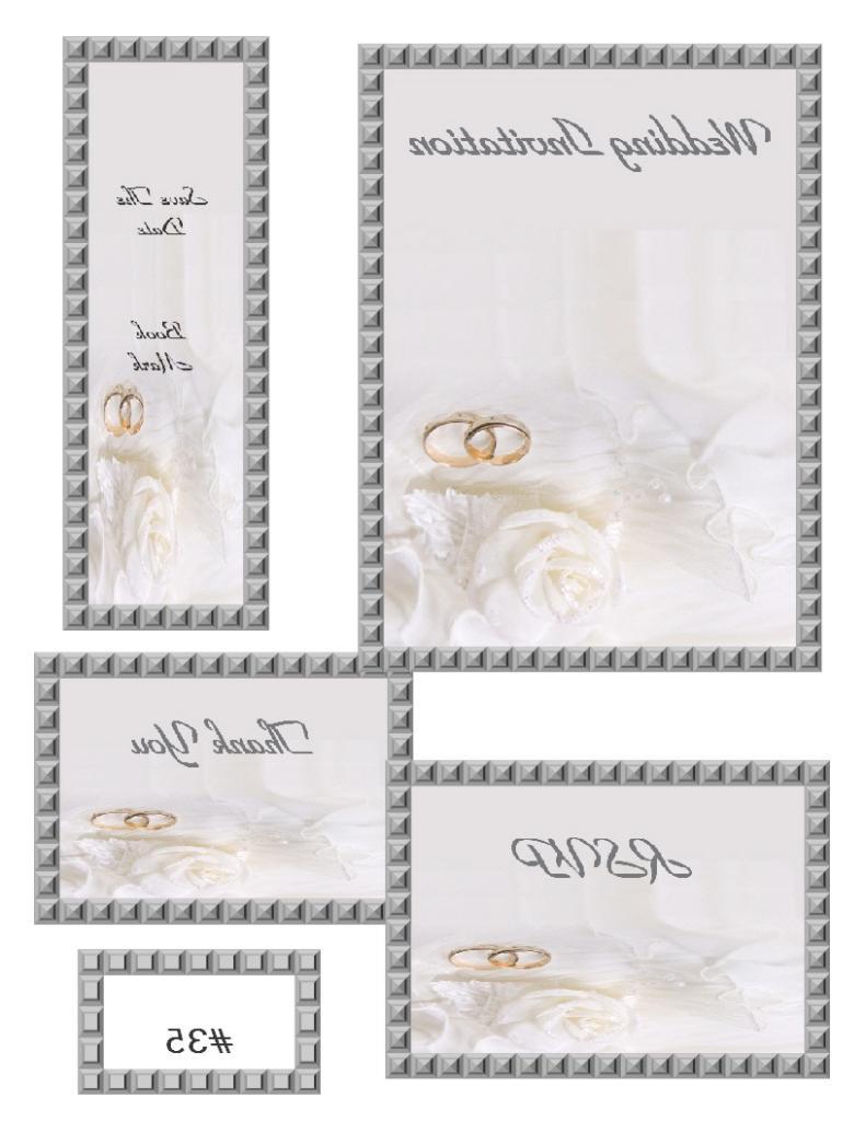 Wedding invitations - Artz Studios - Wendy Boutilier Artist