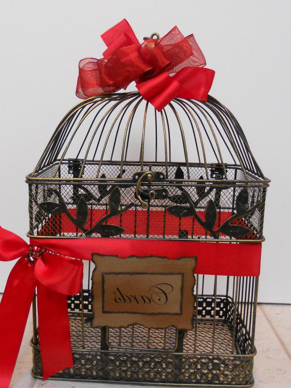 Birdcage Wedding Card