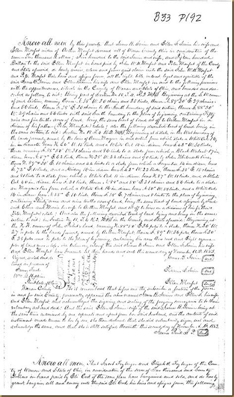 John B. Irwin,Ellen S. Irwin,Ellen Monfort,1853 1