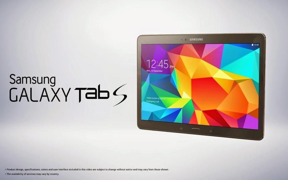 Samsung Galaxy Tab S 10.5 - Spesifikasi Lengkap dan Harga
