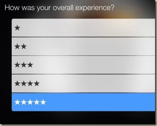 кнопка рейтинга обслуживания для пивного ресторана