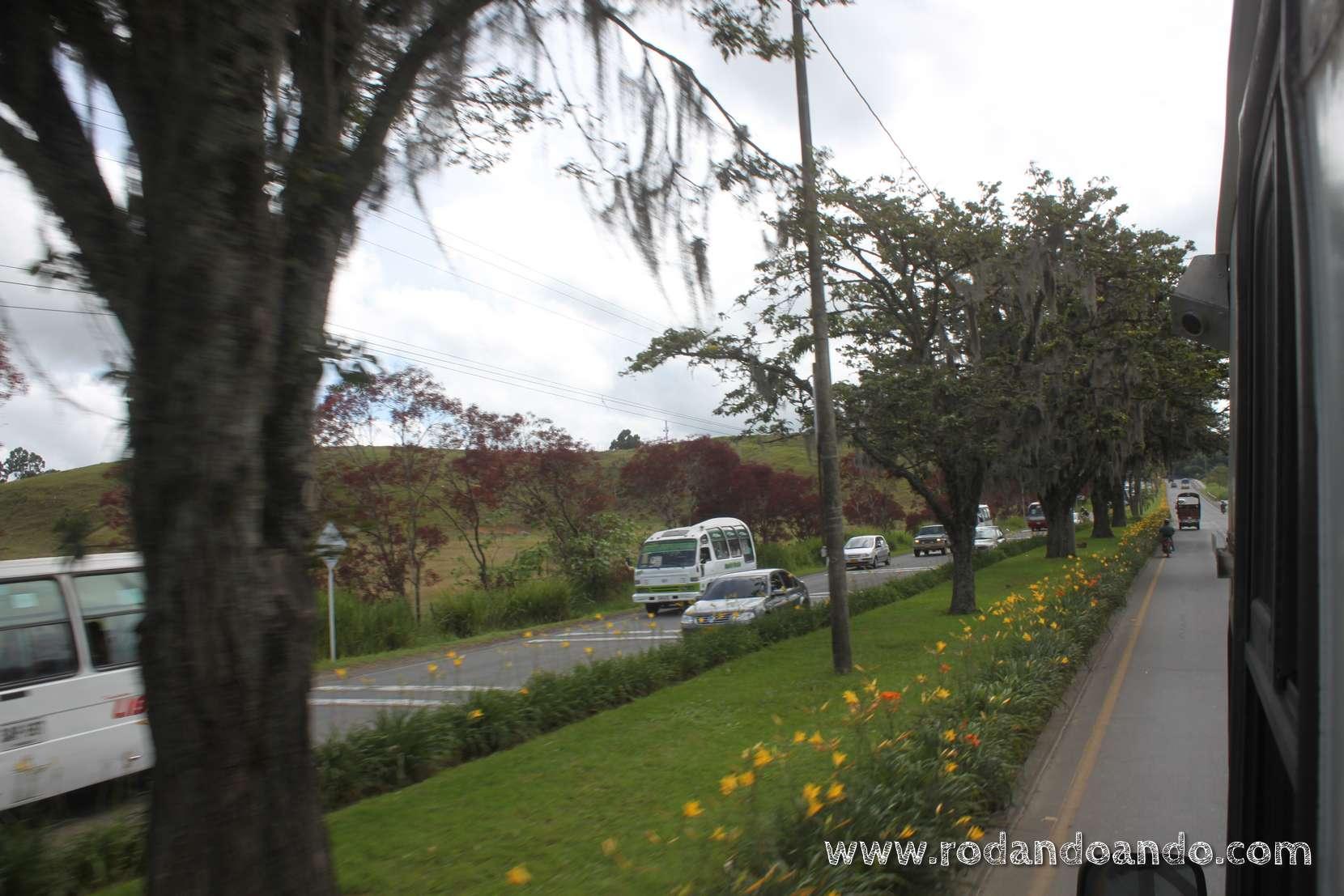 Un muy lindo entorno saliendo de Popayán