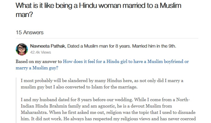 hindu girl marry muslim