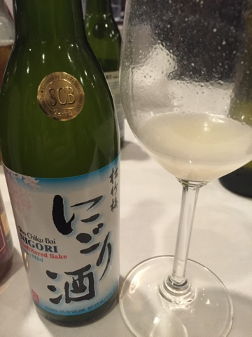 Nigori Unfiltered Sake