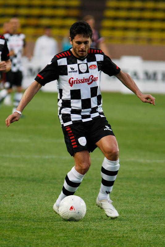 Джанкарло Физикелла на благотворительном футбольном матче в Монте-Карло 2011