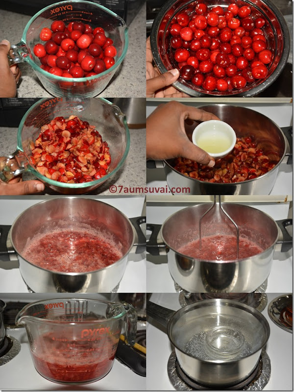 Cherry jam / Homemade cherry jam