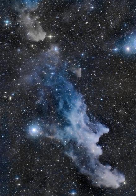 Nebulosa Cabeça da Bruxa