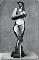 Alexander_Archipenko,_Statuette,_1916