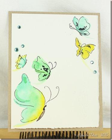 WCMD15 watercolour butterflies