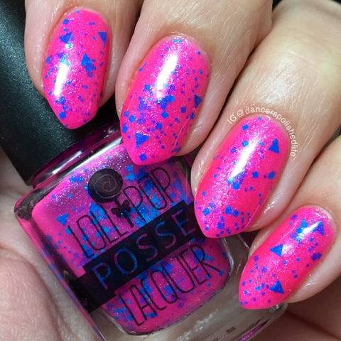 neon-pink-blue-glitter-crelly-polish
