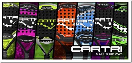 Nueva Colección de Palas de la firma CARTRI