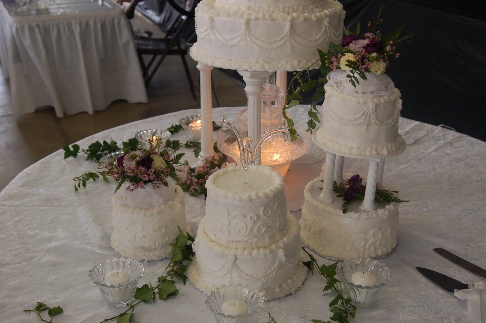 beautiful wedding cake tiers w