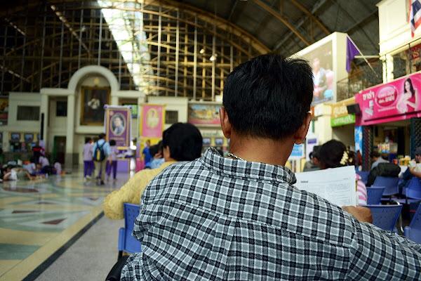железнодорожный Вокзал Бангкок