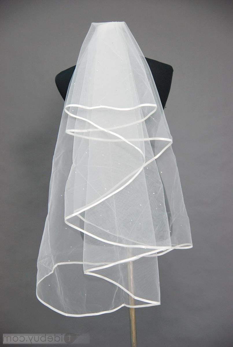 Edge Wedding Bridal Veil