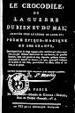 Le Crocodile ou la Guerre du Bien et du Mal (1798,in French)