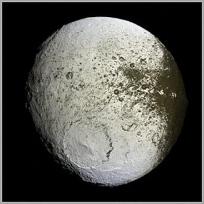 Iapetus – Uma enorme Nave Mãe abandonada na orbita de Saturno