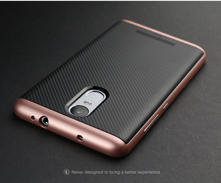 Image of Case for Xiaomi Redmi Note 3 Shockproof PC+TPU Case with Frame Silicone Case Cover for Xiaomi Redmi Note 3 Prime 5.5inch