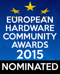 European Hardware Community Awards -  Nominated Logo