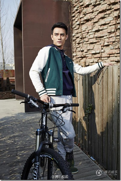Wang Kai X Bike 王凱 X 中國自行車 2015 Jan Issue 01