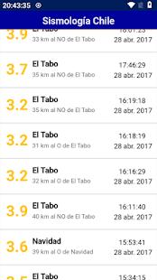 Sismología Chile APK for Kindle Fire