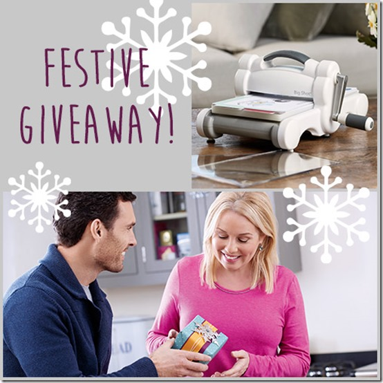 vinci big shot e fustelle-christmas-essentials-giveaway