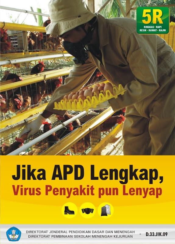 Jika APD lengkap, virus penyakit pun lengkap