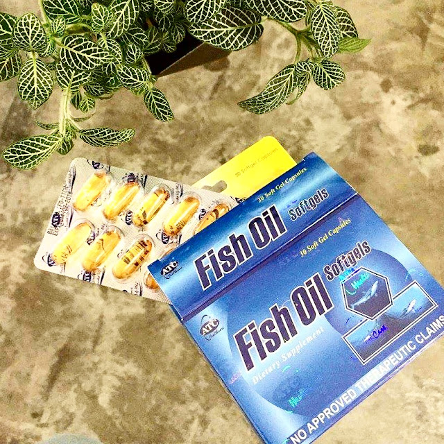 ATC Fish Oil: Stop the Stress, Take a Rest