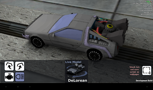 Live Model DeLorean - screenshot