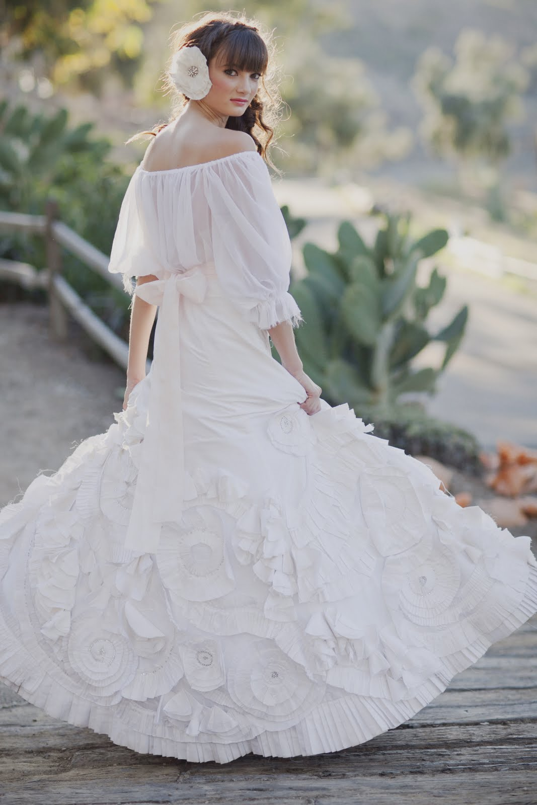 Spanish Bridal Fashion with