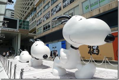 Harbour City X Snoopy 2014