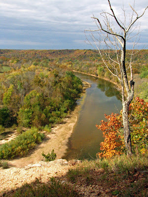 View from the Bluff toward Clifty Creek