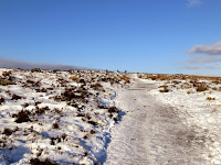 A Wide Path Leads On To Curbar Edge