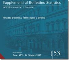 Supplementi al Bollettino Statistico. Ottobre 2015