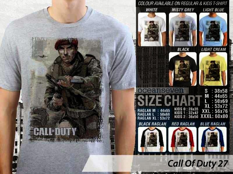 KAOS cod Call Of Duty 27 Game Series distro ocean seven