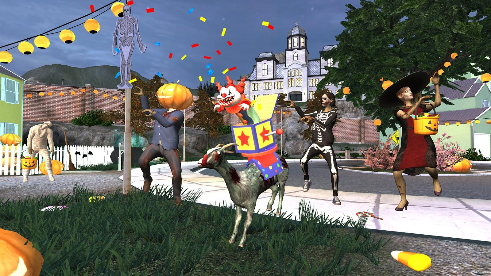 Goat Simulator GoatZ Screenshot 0