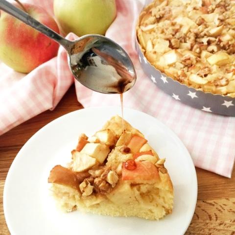 Herbstlicher Apfelkuchen mit Zimt