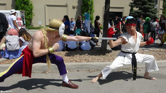 VEGA VS RYU at Anime North 2014 in Mississauga, Ontario, Canada