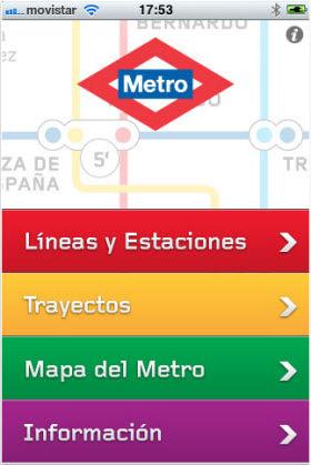 Una app móvil con recorridos por el Metro para personas con movilidad reducida