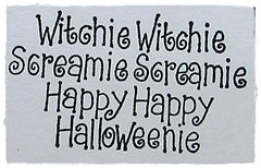Witchie Witchie Screamie Screamie Happy Happy Halloweenie 2015  is