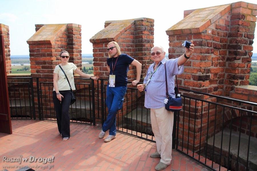 Zwiedzamy Zamek w Świeciu z Jakubem i Zbysławem