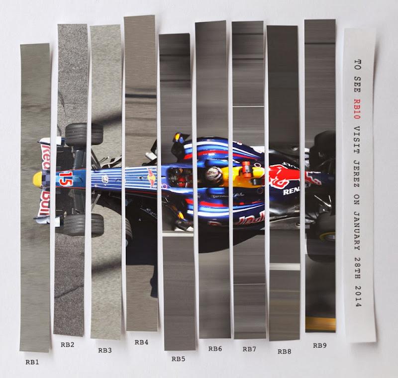 афиша презентации болида Red Bull RB10 в Хересе 2014
