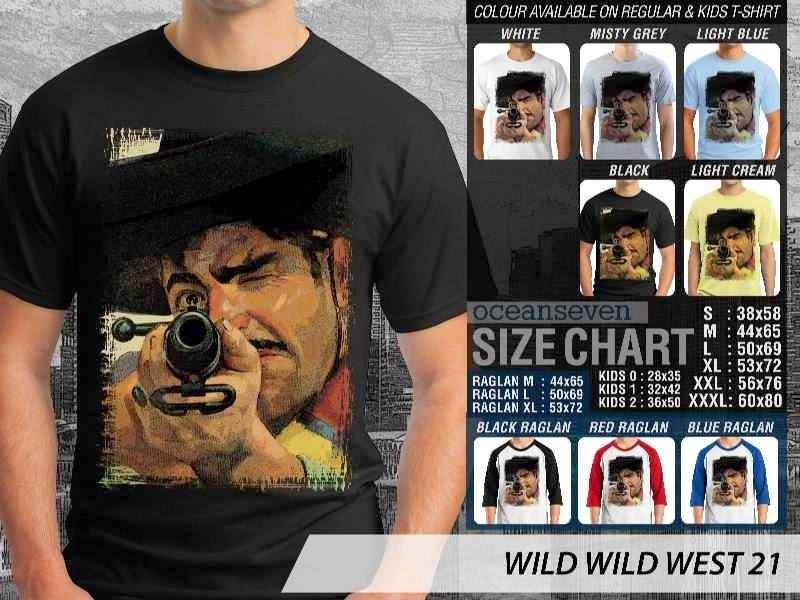Kaos Cowboy Americana 21 Wild West distro ocean seven