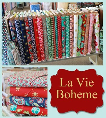 La Vie Boheme fabric from the Fabric Mill