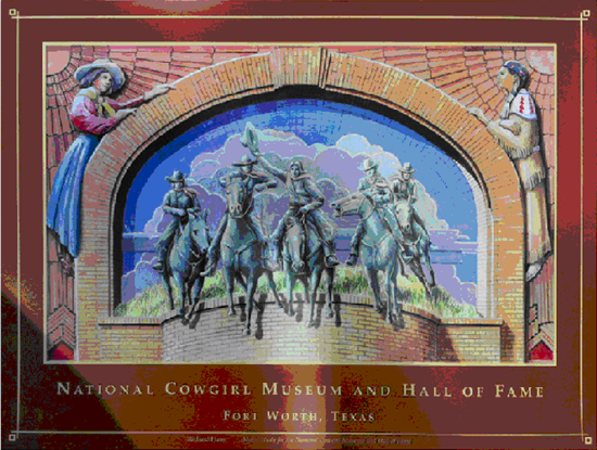Poster of Cowgirl Museum Mural