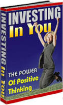 Cover of C Kellogg's Book Investing In You The Power Of Positive Thinking