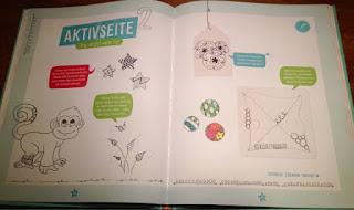Zentangle für Kids Buch von Beate Winkler, Aktivseite Tanglen
