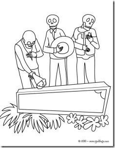 另外一个有趣的葬礼,骷髅场景